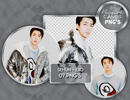 [PNG PACK #164] SEHUN (EXO) by fairyixing