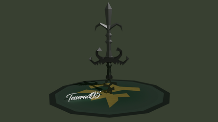 Runescape - Bandos God Sword |Old Style| by Tesseract95