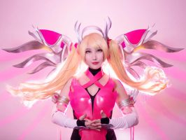 Pink Mercy from Overwatch by RinnieRiot