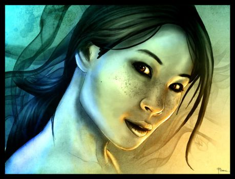 Lucy Liu by mobius-9