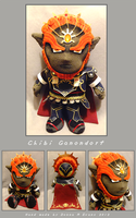 Chibi Ganondorf Plush by tavington