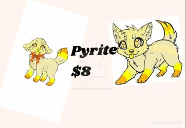 selling Pyrite by GingerMaiden