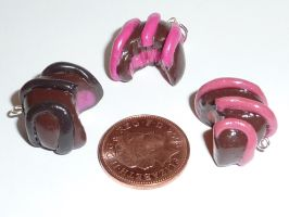 Fimo chocolate charms by ImagenedRose