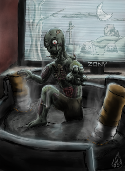 The Ugly Truth - Undead by Soul-Fyre