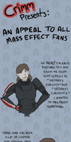 Kriss Shepard: a message to all Shepards by Crimm-Art