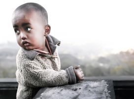 God Bless Poor People by Hussain-Studio