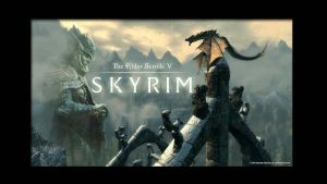 Skyrim Wallpaper by GeOh-One