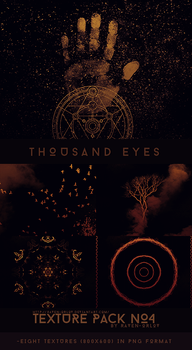 Texture Pack #4 - Thousand Eyes by RavenOrlov