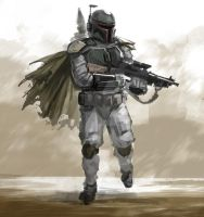 Boba Speed Sketch by mkmatsumoto