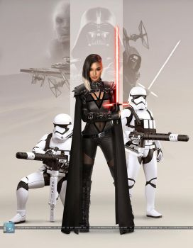 Star Wars - Knights of the First Order: Nyssa Ren by SilentArmageddon