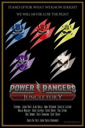 Power Rangers Poster 15 - Jungle Fury by Stormhale