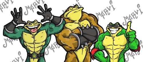 Mad, Bad and Crazy toads
