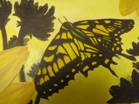 Yellow Butterfly by Lanilas
