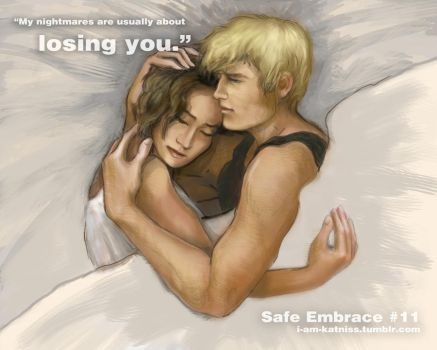 Hunger Games - Safe Embrace - no.11 by lizzomarek