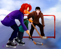 Request: A Day on the Ice by SurrealMime