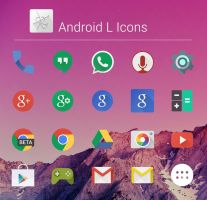 Android L Icons by dtafalonso