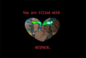 Fanmade Undertale Anti-Trait #1: DESPAIR by Phoenix-Prime-3000
