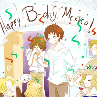 APH-HBD Mexico by NamelessAnami