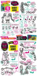 How to draw ROBOT ARMS - KICKSTARTER has 15 DAYS! by STUDIOBLINKTWICE
