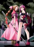 Aerith and Tifa by EUDETENIS