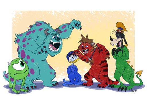 KH - Newcomer Monsters by LynxGriffin