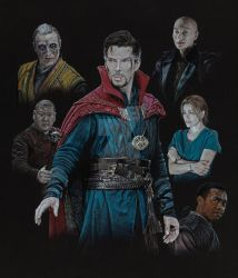 2017 Doctor Strange Collage by Splunge4Me2Art