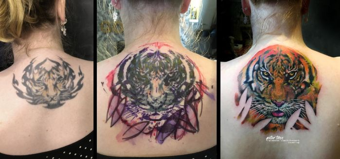 Tiger cover-up by tikos