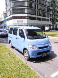 Sky Blue Toyota Liteace S400 by Amgnismo