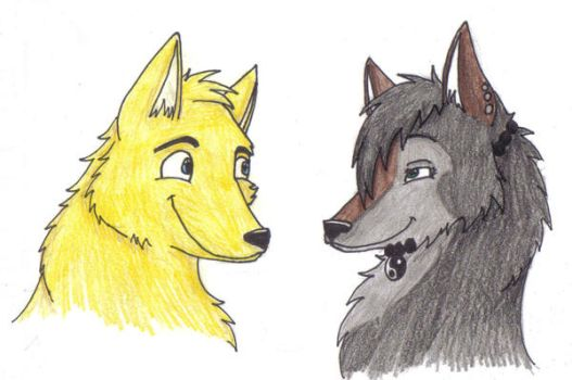 Wolfy Love by SheaTheDestroyer