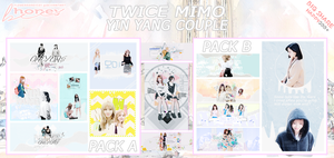 [SHARE PSD PASTEL] TWICE MINA x MOMO x MIMO by FlowerRoad1501