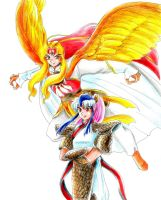 Greatest rivals of Ranma by ranmaonehalf