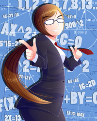 Math is your waifu by RemiliaPolz
