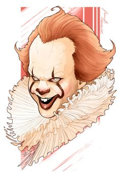 Pennywise by MimmuArt