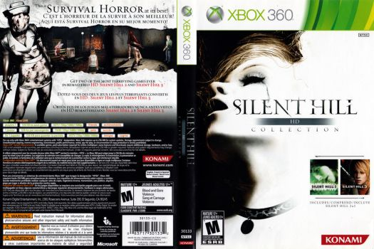 Silent Hill HD Collection boxart (Xbox 360) by dakotaatokad