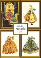 Cinderella and her gowns by ranunkel
