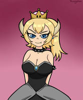 Bowsette by Thongchan