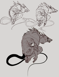 Sketch stages:. by Remarin