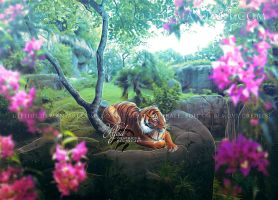 Queen of the jungle by Ulfeid3