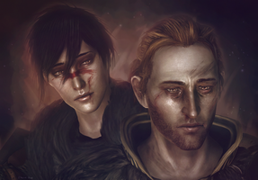 Hawke and Anders model edit whatsit by Kaeriah