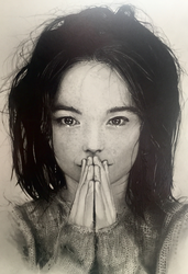 Bjork - Debut by AaronFrick