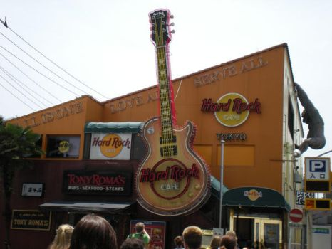 The Hard Rock Cafe in Tokyo by Caterfree10