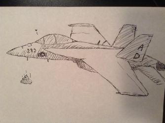 F/A-18 made by Lykus by NarwhalMassacre