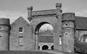 The stables - Culzean Castle by UdoChristmann