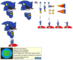 Character Builder-Metal Sonic by Kphoria