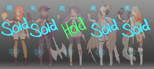 [CLOSED] $25 Fantasy Adopts 1 by Valkymie
