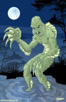 Creature From the Black Lagoon by Chadfuller