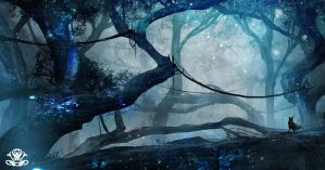 Icy Forest by legendary-memory
