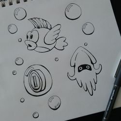 I hate Underwater Levels. by SacaradiTuenifore