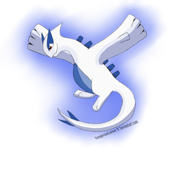 Lugia by DangerousCanine