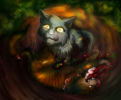 Warriors: deathberries by Marshcold